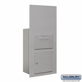 Salsbury 3600C7-AFP Collection Unit For 7 Door High 4B+ Mailbox