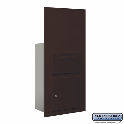 Salsbury 3600C7-ZFU Collection Unit For 7 Door High 4B+ Mailbox