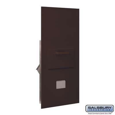 Salsbury 3600C7-ZRP Collection Unit For 7 Door High 4B+ Mailbox