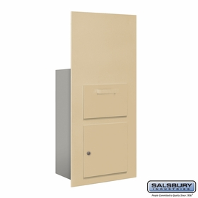Salsbury 3600C7-SFU Collection Unit For 7 Door High 4B+ Mailbox