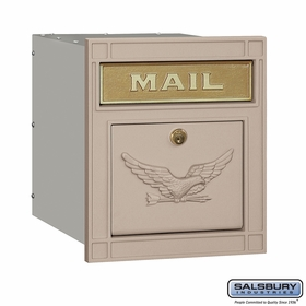 Cast Aluminum - Locking Column Mailboxes