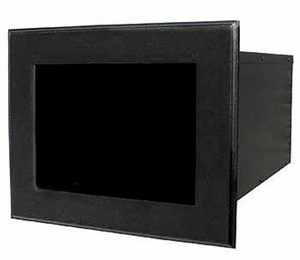 Column Mailbox Newspaper Holder Black