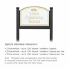 Salsbury 1522WGF1 Commercial Address Sign