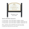 Salsbury 1522WGF2 Commercial Address Sign
