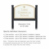 Salsbury 1522WGS2 Commercial Address Sign