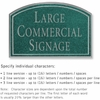 Salsbury 1520JSN2 Commercial Address Sign