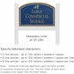 Salsbury 1521CGD2 Commercial Address Sign