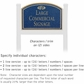 Salsbury 1521CGF2 Commercial Address Sign