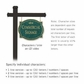 Salsbury 1542JGF2 Commercial Address Sign