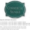 Salsbury 1540JSN2 Commercial Address Sign