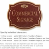 Salsbury 1540MGF2 Commercial Address Sign