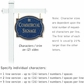 Salsbury 1541CGG2 Commercial Address Sign
