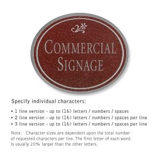 Salsbury 1530MSD2 Commercial Address Sign