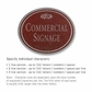 Salsbury 1530MSF Commercial Address Sign