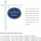 Salsbury 1531CSI1 Commercial Address Sign