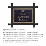 Professional Lawn Plaques - Rectangular 1-Sided