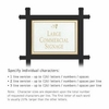 Salsbury 1512WGD1 Commercial Address Sign