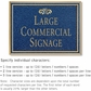 Salsbury 1510CGF2 Commercial Address Sign