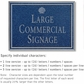 Salsbury 1510CSS Commercial Address Sign