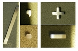 Contemporary 5 inch House Symbols