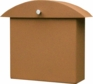 Contemporary Rust Monet Wall Mounted Mailbox