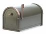 Coronado Mailbox with Antique Copper Accents