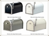 Coronado Mailbox with Antique Nickel Accents