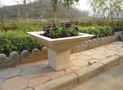 "Cubic Pedestal Riser for 30"" Planter (Choose Color)"