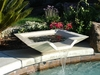 Cubic Scupper Fountain 30""