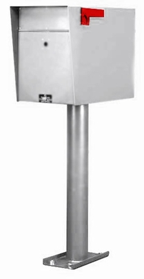Custom Commercial Collection Box in Stainless - Single (Rear Access)