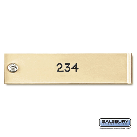 Salsbury 3774SAN Custom Engraving 4C Horizontal Lockers