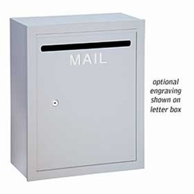 Salsbury 2266R-LB Custom Engraving Regular For Letter Box