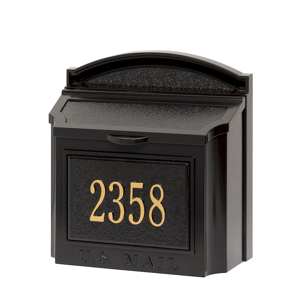 Whitehall Products | Custom Wall Mount Mailbox with Removable ...