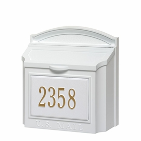 Whitehall Wall Mount Mailboxes