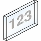 Salsbury 2068C Custom Engraving For Brass Mailbox Tenant Doors On Clear Plastic Windows