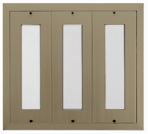 D400 120-Name Mail Directory In Anodized Gold - Mount Beside Horizontal Mailboxes