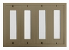 D400 160-Name Mail Directory Anodized Gold - Mount Beside Horizontal Mailboxes