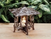 Whitehall Daffodil Twilight Lantern - Copper Verdi