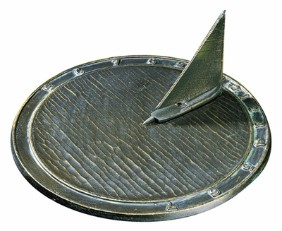 Whitehall Day Sailor Sundial - Oil Rub Bronze