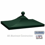 Salsbury 3350GRN Decorative CBU Top Green