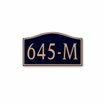 Dekorra Products 645 Medium Horizontal Address Plaques