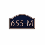 Dekorra Products 655 Medium Horizontal Address Plaques