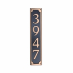 Dekorra Products 656 Medium Vertical Address Plaques