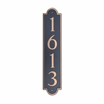 Dekorra Products 657 Medium Vertical Address Plaques