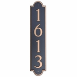 Dekorra Products 657 Vertical Address Plaques