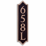 Dekorra Products 658 Medium Vertical Address Plaques