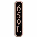 Dekorra Products 659 Medium Vertical Address Plaques