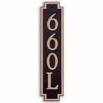 Dekorra Products 660 Medium Vertical Address Plaques