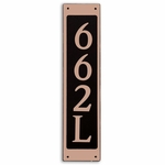 Dekorra Products 662 Medium Vertical Address Plaques
