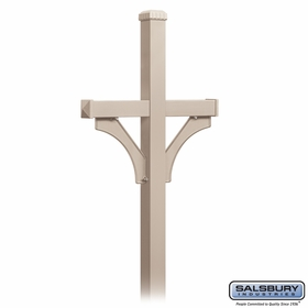 Salsbury Double Sided Deluxe Mailbox Posts for 2 Mailboxes